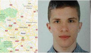 Francja. Zaginął 20-letni Bernard Daniel Ignatowicz z Białegostoku. Ostatni raz był widziany w okolicach Paryża