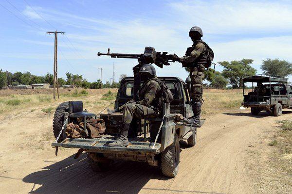 Żołnierze wzmacniają pogranicze kameruńsko-nigeryjskie