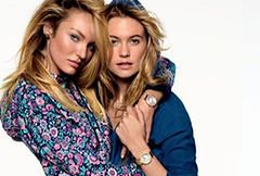 Candice Swanepoel i Behati Prinsloo w kampanii Juicy Couture