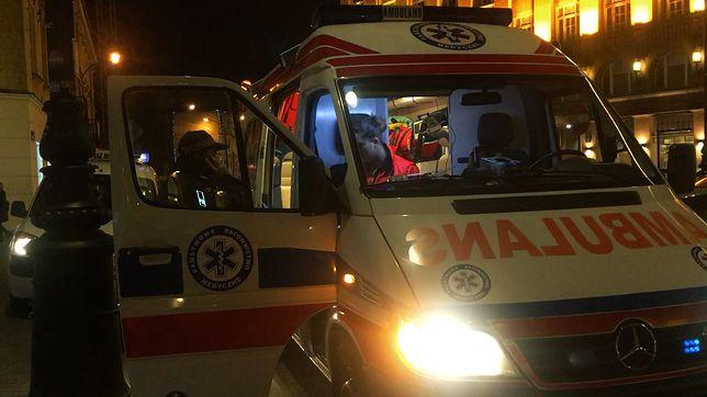 Chłopiec trafił do szpitala