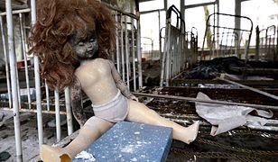 Opuszczona szkoła nieopodal elektrowni w Czarnobylu
