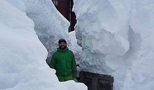 Rekordowe opady śniegu zanotowano m.in. w ośrodku Cervinia we Włoszech