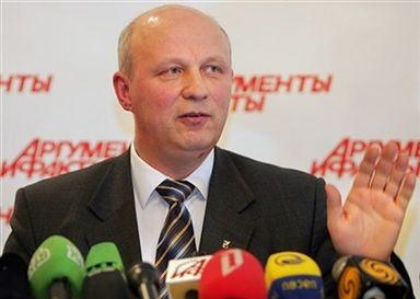 Aleksander Kazulin - profesor z piechoty morskiej