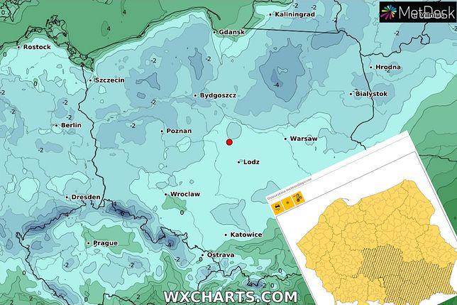 Pogoda. Ostrzeżenia IMGW. Żółte alerty dla całej Polski