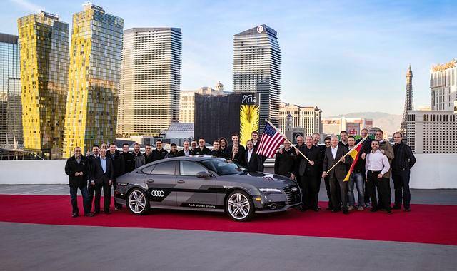 Długodystansowy test autonomicznego Audi zakończony sukcesem