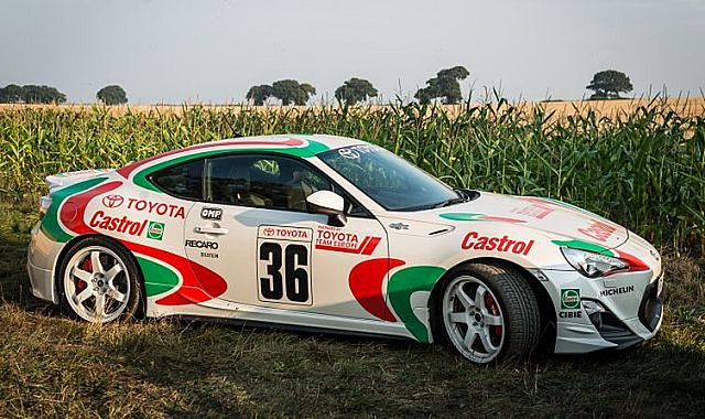 Toyoty GT86 stylizowane na legendy motorsportu