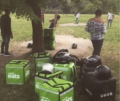 Dostawcami Uber Eats w Warszawie często są Hindusi