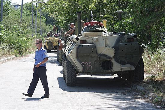 Rosja: Ukraińcy chcą, by przelała się krew