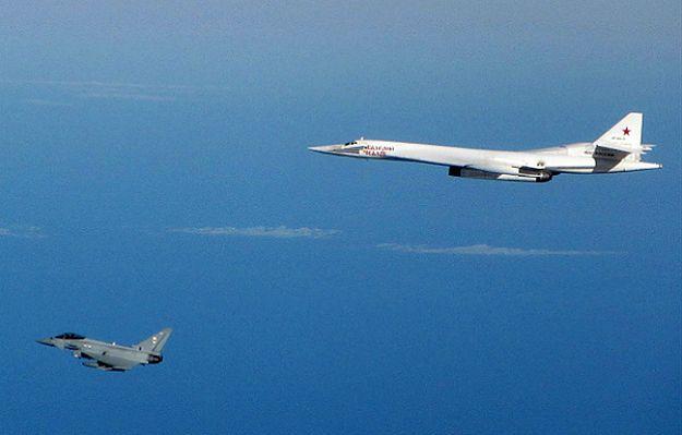 Alarm lotniczy w Wielkiej Brytanii. Myśliwce Tajfun przechwyciły rosyjskie bombowce