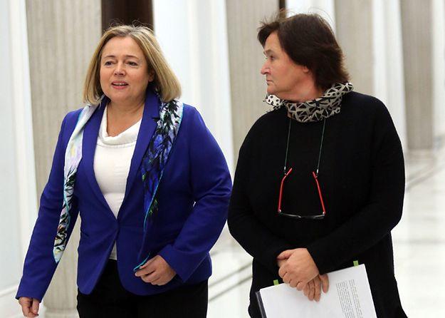 Wicemarszałek Sejmu Wanda Nowicka i prof. Magdalena Środa