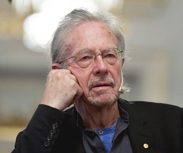 Peter Handke w Sztokholmie nie wytrzymał do końca konferencji