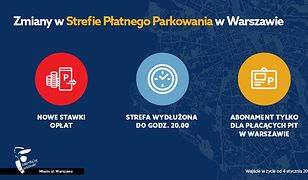 Warszawa. Nowe zasady w Strefie Płatnego Parkowania Niestrzeżonego. Droższe parkowanie