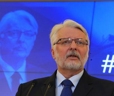 Witold Waszczykowski żegna się z MSZ?