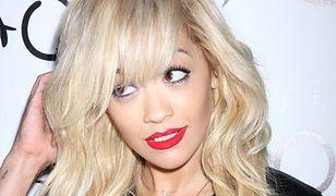 """Rita Ora z suflerem w """"Pięćdziesięciu twarzach Greya"""""""