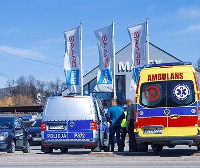 Śląskie. W Górkach Wielkich 40-letni pijany kierowca potrącił dwie nastolatki, które poruszały się chodnikiem.