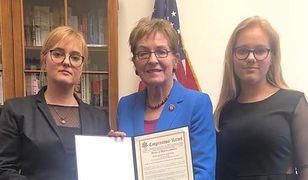 Magdalena i Antonina Adamowicz odwiedziły Kongres USA