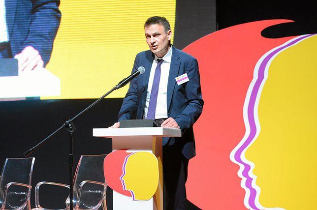 Wojciech Kaczmarczyk pełnomocnik rządu ds. równego traktowania.