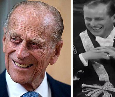 Książę Filip po operacji serca. BBC wyemitowało czarno-biały materiał