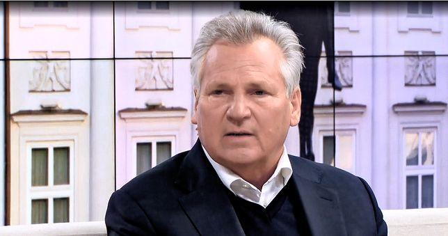 Aleksander Kwaśniewski został zapytany o memy, których jest bohaterem