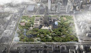 Projekt zielonego centrum Warszawy