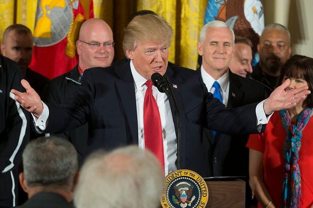 """Trump: """"Coś powinno się stać"""" z prezydentem Syrii"""