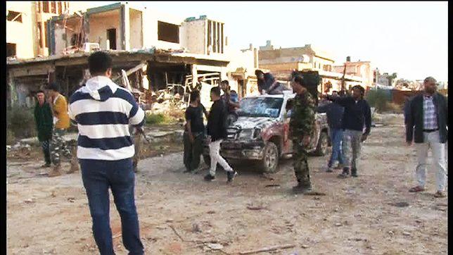 Konwój ONZ zaatakowany na zachód od Trypolisu