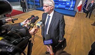 Witold Waszczykowski, w latach 2015–2018 minister spraw zagranicznych