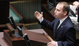 Adam Andruszkiewicz, wiceminister cyfryzacji w Sejmie