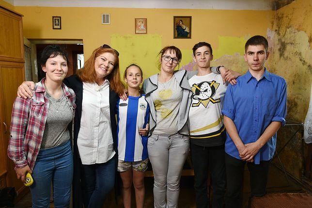 Rodzina pani Agnieszki