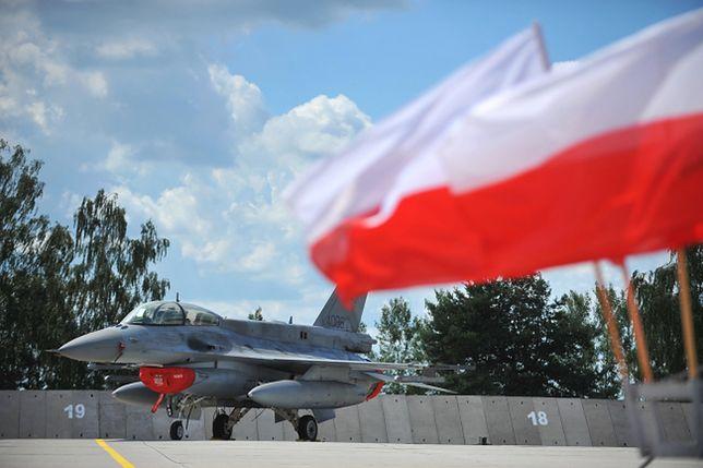 Polskie F-16 będą po raz pierwszy strzegły państw bałtyckich