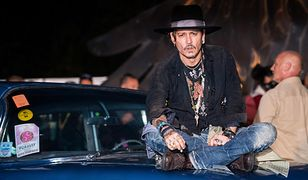 """Johnny Depp pojawił się ostatnio w filmie """"Morderstwo w Orient Expressie"""""""