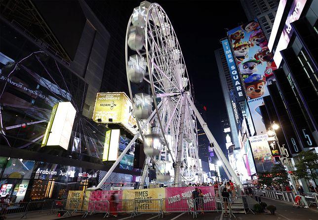 Diabelski młyn na Times Square