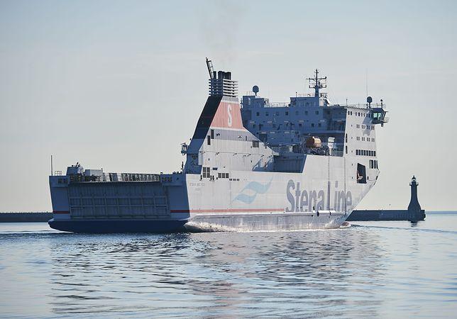 Szwecja. Prom pasażersko-samochodowy Stena Line Spirit