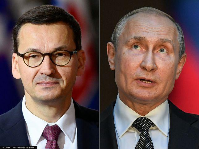 Premier Mateusz Morawiecki nie kończy dyskusji historycznej z Rosją