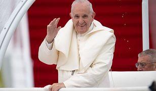 Papież Franciszek podczas światowych Dni Rodziny. Dublin, sierpień 2018 roku.