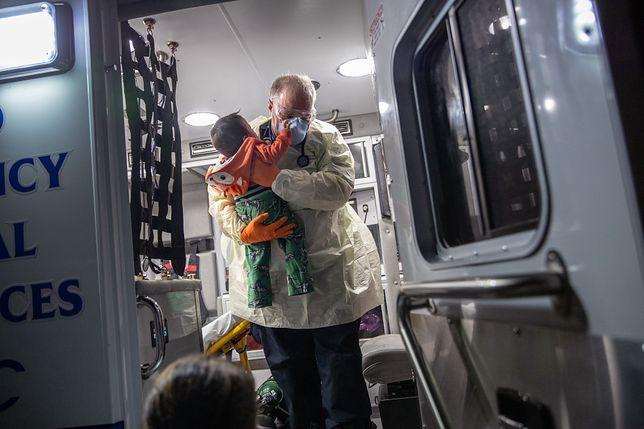 Koronawirus. Tajemnicza choroba dzieci związana z SARS-CoV-2. Coraz więcej przypadków w Nowym Jorku (zdj. ilustracyjne)