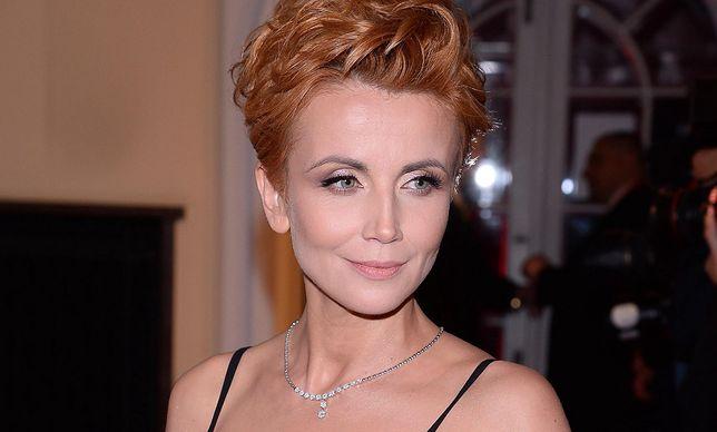 Katarzyna Zielińska płakała po przykrym komentarzu producentów serialu.