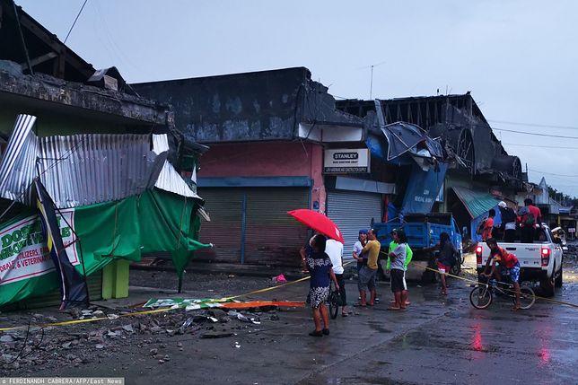 Filipiny. Do silnego trzęsienia ziemi doszło na wyspie Mindanao, na południu kraju
