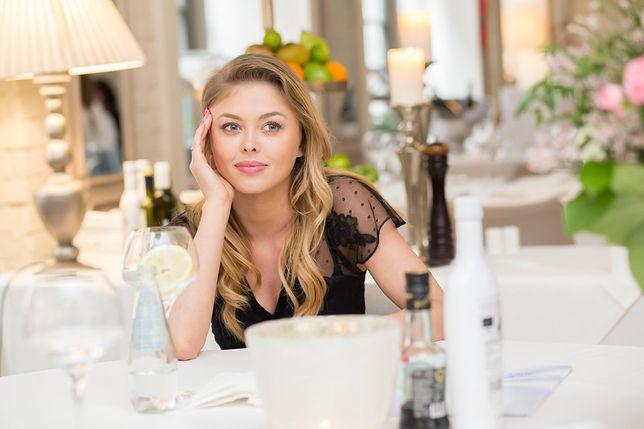 Joanna Opozda zazwyczaj stawia na pełny make up