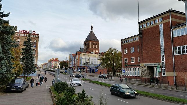 Ulica Zwycięska w Koszalinie