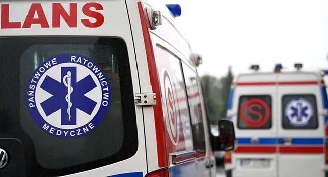 Wybuch na Śląsku. Jednego z mężczyzn do szpitala zawiozła karetka pogotowia