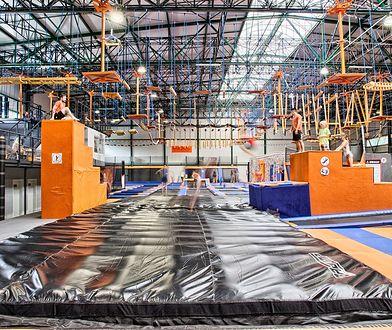 Nowy park trampolin w Warszawie