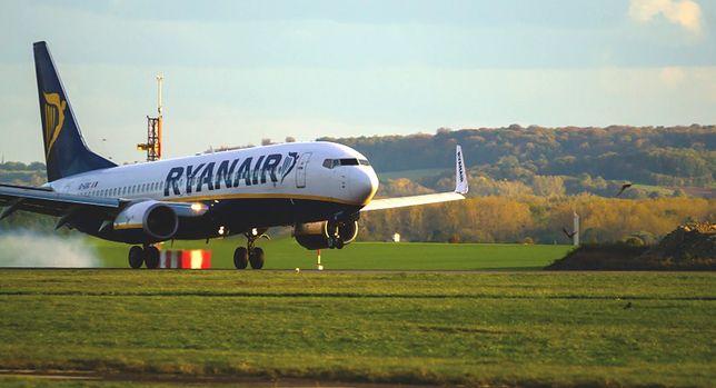 Majorka - awaryjne lądowanie samolotu