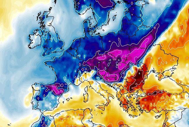 Pogoda. Atak zimy w maju. 12 maja powieje arktycznym chłodem