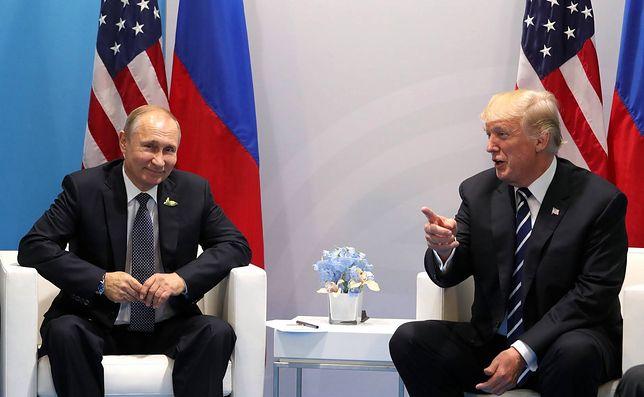 Pierwsze spotkanie Trump-Putin odbyło się podczas szczytu G20 w Hamburgu