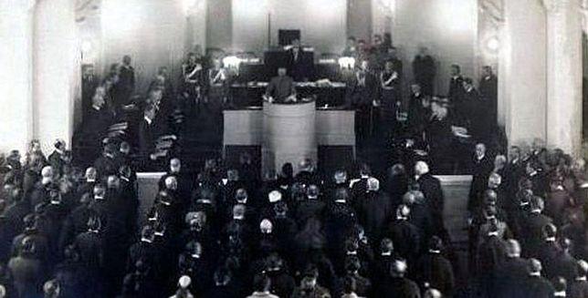 95 lat temu odbyło się pierwsze posiedzenie Sejmu w niepodległej Polsce