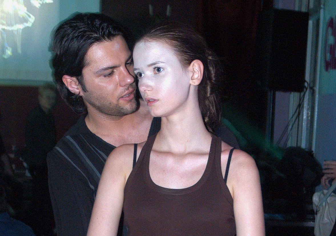 Olivier Janiak i Karolina Malinowska w młodości