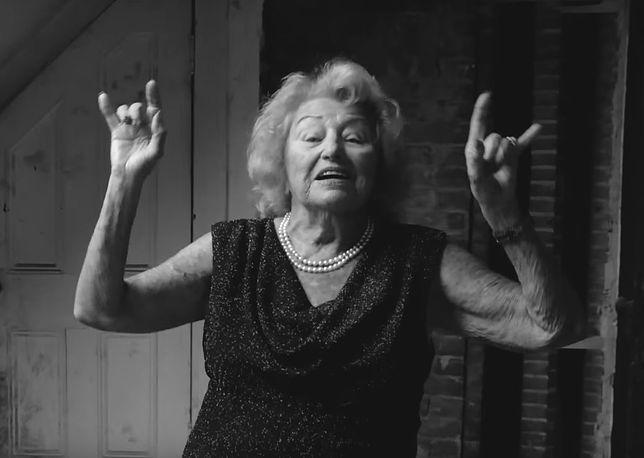 """""""Deathmetalowa babcia"""" nie żyje. Inge Ginsberg miała 99 lat"""
