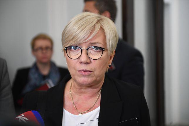 Julia Przyłębska ostro skrytykowała też I prezes SN Małgorzatę Gersdorf