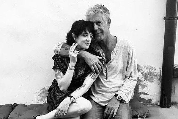 Anthony Bourdain i Asia Argento tworzyli parę od ponad roku